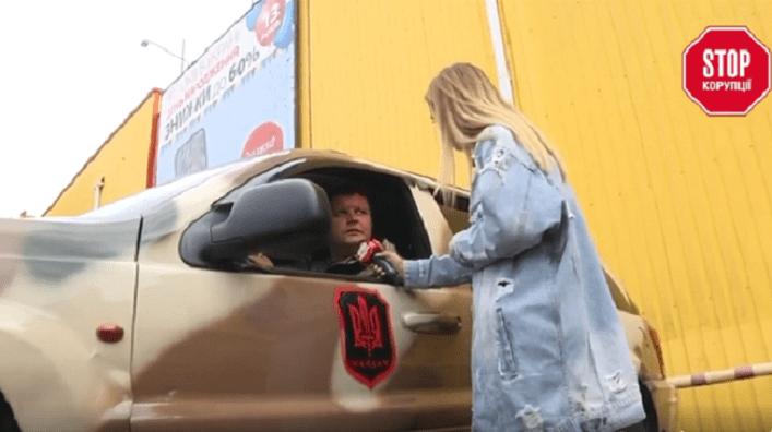 Активісти ГО Майдан тітушки незаконно намивають пісок