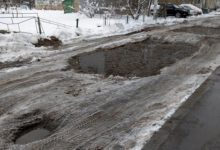 Оболонский район Киев ужасные дороги
