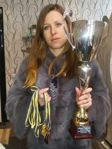 Юлія Цепун риболовний турнір Кубок пам'яті Героїв Небесної Сотні