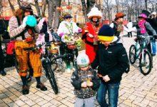 1 квітня, з нагоди Дня сміху Києвом проїхався третій костюмований Велопарад Планет