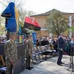 Кличко взяв участь у відкритті пам'ятника Герою Мирославу Мислі