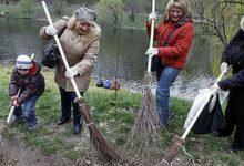 Киевляне помогут коммунальщикам с уборкой столицы. Адреса