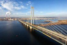 Ограничение движения на Южном мосту