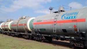 Цистерни «Газпрому в Одеській області