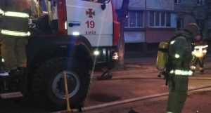 В Деснянском районе во время тушения пожара были спасены 7 человек