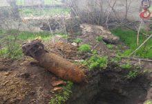 В Днепропетровской области нашли авиационную бомбу весом 100 кг
