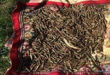В Донецкой области местная жительница нашла мешок с арсеналом боеприпасов. Фото