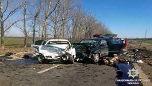 В Харьковской области в результате аварии погибла семья с двумя детьми. Фото