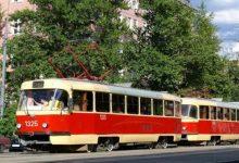 В Киеве на три ночи закроют движение двух трамвайных маршрутов