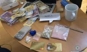 В Киеве задержан наркоторговец. Фото