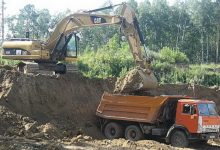 В Киевской области процветает продажа чернозема. Видео