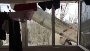 В Одесі чоловік відкрив стрілянину через обвал балкону