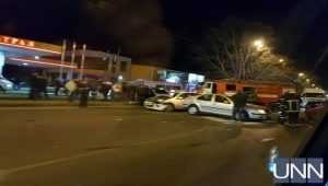 В Одессе столкнулись три автомобиля