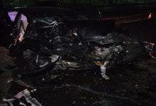 В Одессе женщина сбила пешехода после чего врезалась в бетонную стену дома