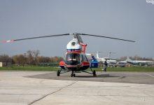 В Запорожье был поднят в небо первый украинский вертолет. Видео