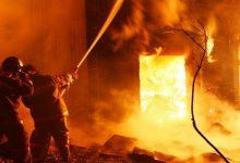 В городе Мирноград на территории шахты произошел пожар