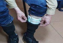 В носках у украинца пограничники обнаружили 25 тыс. евро