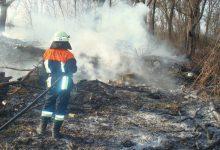 В столице наблюдается высокий уровень пожарной опасности