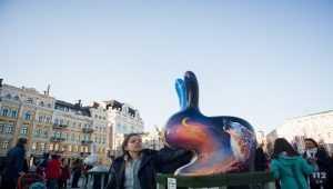В центре Киева открылся масштабный фестиваль писанок. Фото