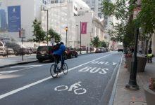 Велосипедную инфраструктуру добавят еще на девяти улицах