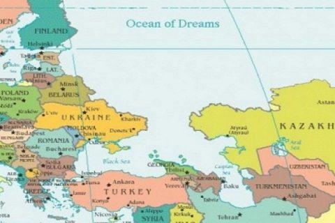 Россию стерли с карты Мира
