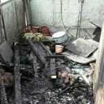У Києві горіло сміття на балконі квартири