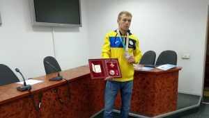 срібний призерПаралімпійських ігор у Пхьончхані Григорій Вовчинський