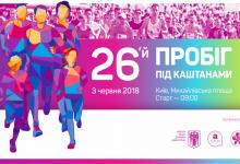 3 июня в Киеве из-за проведения Пробега под каштанами будет ограничено движение