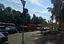 Через ремонт доріг у Києві утворились величезні затори