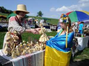 До Києва з'їхались народні митці на Ярмарок народного мистецтва. Фото