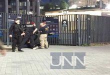 Фанаты атакуют НСК Олимпийский