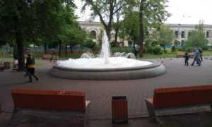 Фонтан на Контрактовой площади залили мылом