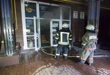 На Оболони сгорел тренинговый центр. Фото, видео