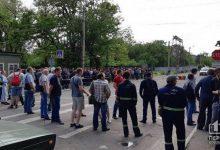 На металлургическом комбинате в Кривом Рогу после четырехдневной забастовки железнодорожники приступили к работе