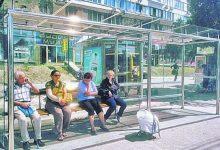С начала года в Киеве установили 46 современных остановок