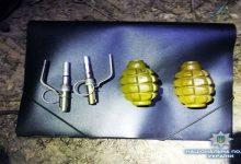 У Броварах правоохоронці затримали чоловіка з небезпечними предметами у рюкзаку