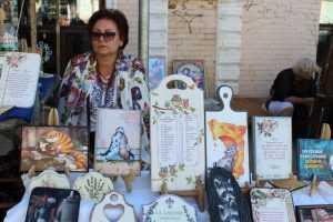 У День Києва Андріївський узвіз перетворився на мистецький майданчик країни