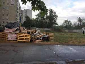 У Києві почали демонтаж скандальної забудови