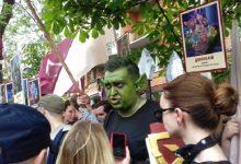 У Києві серед учасників мітингу були також герої фантастичних фільмів
