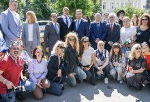 У Києві відкрили сквер на честь видатного болгарського діяча