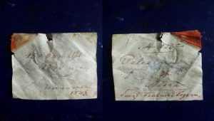 У київському музеї під час чистки експоната знайшли записку 1840 року