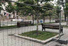Улицу Крещатик перекрыли до конца мая