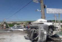 В Днепре грузовой автомобиль протаранил 10 автомобилей, погиб 1 человек. Фото