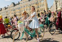 В Киеве прошел парад на велосипедах. Фото