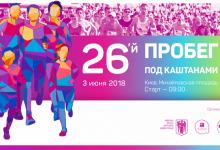 В Киеве состоится благотворительное мероприятие Пробег под каштанами