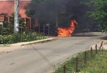 В Одессе подожгли автомобиль руководителя экологической инспекции