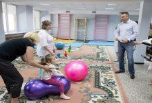 В Пуще-Водице открыли уникальный санаторий для детей с инвалидностью