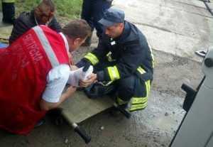 В Закарпатской области 19-летний парень выпал из поезда