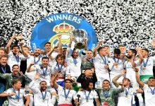 В финале Лиги чемпионов УЕФА испанский Реал одержал победу со счетом 31. Фото
