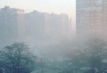 Виноградарь окутан густым смогом и едким запахом гари